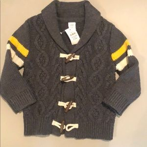 Baby Gap Gray Sweater Size 18-24mos NWT
